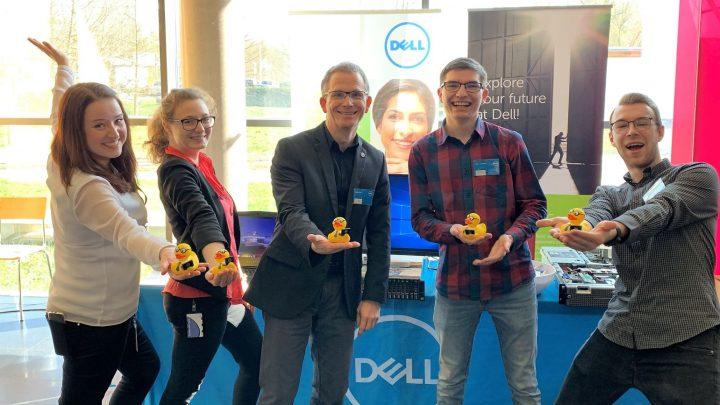 Dell Technologies @ Hochschulinformationstag. Duale Hochschule Gera (DHGE). #Iwork4Dell